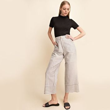 Faye Striped Pants