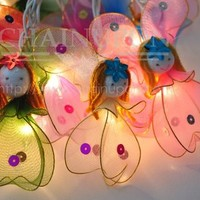 ANGEL FANCY STRING PARTY,FAIRY,KID BEDROOM,HOME,CHILDREN,DECOR,BEDROOM LIGHTS