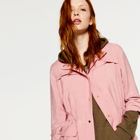 SAFARI JACKET WITH POCKETS - View all-WOMAN-NEW IN | ZARA United States