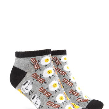 Coffee Pattern Socks | Forever 21 - 2000223490