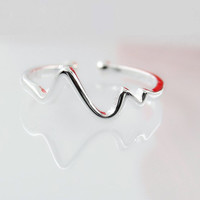 Gift Jewelry Shiny New Arrival Korean Strong Character Stylish Innovative Ring [10467598100]