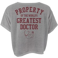 Property of the world's greatest doctor