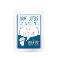 Sexy Librarian - Wax Melt - Book Lovers' Soy Tart - 3oz Pack