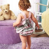 2-Pc. Baby Ruffled Diaper Cover Sets