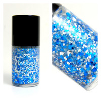 Happy Hanukkah Glitter Nail Polish