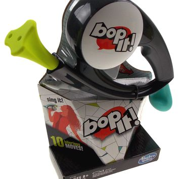 Hasbro Gaming Bop It 10 Hilarious Moves Game 3 Modes of Play Solo Pass