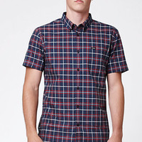 RVCA That'll Do Plaid Short Sleeve Button Up Shirt at PacSun.com
