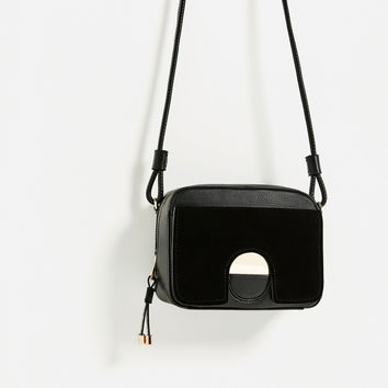 METAL DETAIL CROSSBODY BAG - NEW IN-WOMAN | ZARA United Kingdom