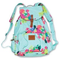 Victoria's Secret pink floral backpack