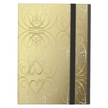 Ornate Gold Case For iPad Air