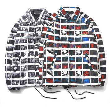 Polaroid Button Up Chelsea Jacket