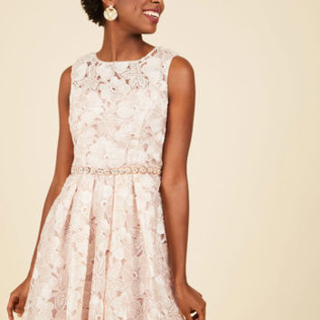 Applause of Nature Lace Dress | Mod Retro Vintage Dresses | ModCloth.com