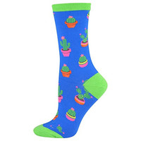 Colorful Cacti Socks