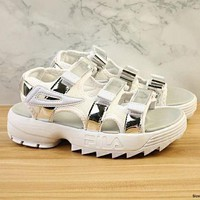 FIAL New Fashion Women Sandals Slippers Black&Gold Bandage Sneakers Leisure Shoes White&Silver