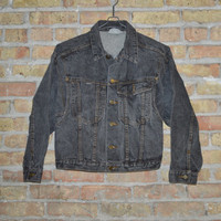 80s Esprit Dark Denim Jacket - M/L