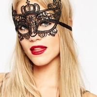 ASOS Halloween Fabric Crown Costume Mask