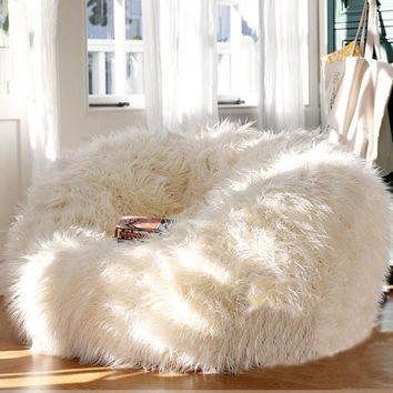 Lounger Size Bean Bag  Chair Cover