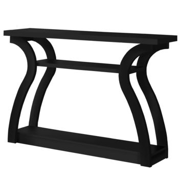 """Accent Table - 47""""L / Black Hall Console"""