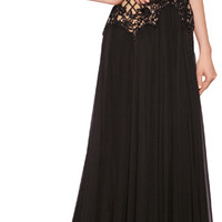 THE LOOK | Designer look with 'Silk Blend Gown with Beaded Overlay' from Zuhair Murad | Luxury fashion online | STYLEBOP.com