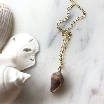 Limited Edition Dove Shell Necklace