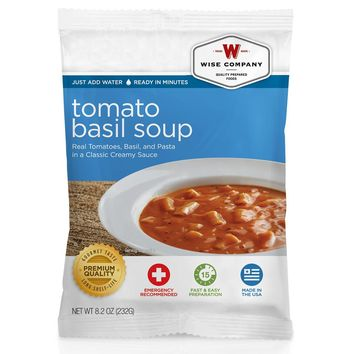 Wise Side Dish - Tomato Basil Soup with Pasta, 4 Servings