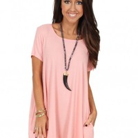 Beach Comber Dress in Peach | Monday Dress Boutique