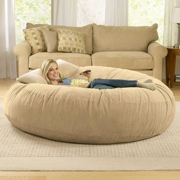 Bean Bag Chairs: Jaxx Cocoon Bean Bag Lounger in Microsuede. Buy Now!
