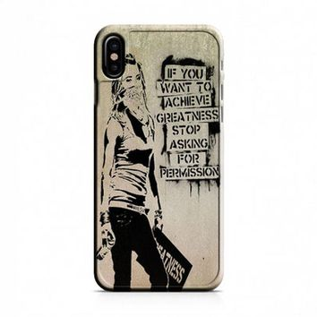 Banksy Art iPhone X Case