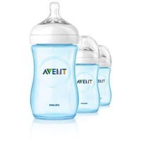 Philips Avent Natural Bottle 3 Pack - 9oz (Boy)