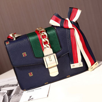 Fashion Women Retro Leather Shoulder Bag Female Casual Crossbody Messenger Bags Chic Handbag Gift 47