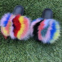 Splat Fur Slippers