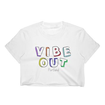 Vibe Out Women's Crop Top