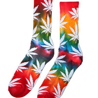 TIE DYE PLANTLIFE RAINBOW SOCKS