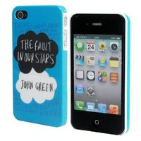 Harryshell Colored Drawing the Fault in Our Stars Pattern Phone Protective Hard Case for Iphone 4 4g 4s