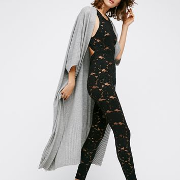 Free People Lovely Lace Catsuit