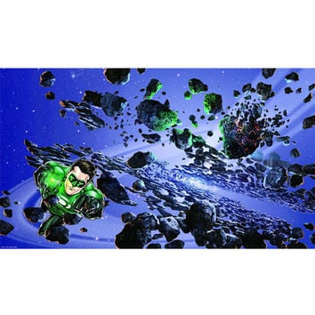 Green Lantern XL Wallpaper Mural 10.5' x 6'