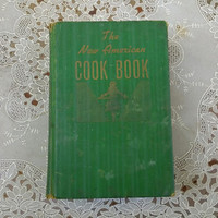 New American Cook Book Lily Haxworth Wallace 1941 First Edition