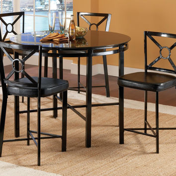 Black Diamond Counter Dining Set