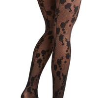 ModCloth Pinup One More Dance Tights