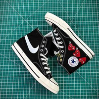 Comme Des Gar?ons X Converse Chuck Taylor All Star Cdg 1970s Canvas Shoes - Best Online Sale