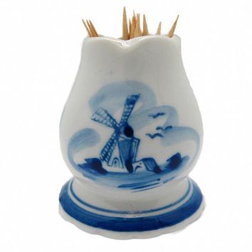 Delft Blue Toothpick Holder
