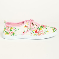 FLOWER TENNIS SHOES