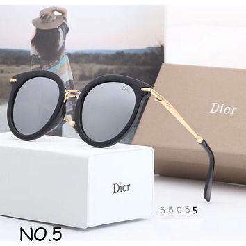 DIOR Trendy Fashion High Quality Casual Joker Sunglasses F-A-SDYJ NO.5