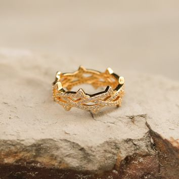 Mister Crown Ring