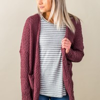 Cute And Cozy Cardigan- Multiple Options