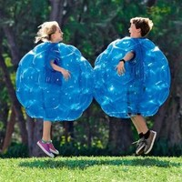 "Buddy Bounce Outdoor Play Ball, Inflatable - Blue - 36"" diam. by HearthSong??"