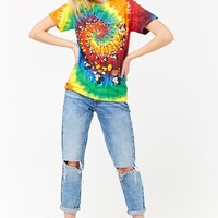 Tie-Dye Mickey Mouse Graphic Top