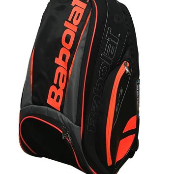 Babolat Pure Black/Fluo Red Racquet Holder Tennis Backpack