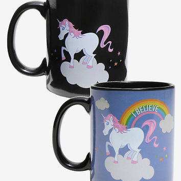 Unicorn Believe Heat Reveal Mug
