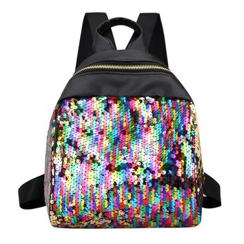 Seapunk Sequined Backpacks (4 Colors)